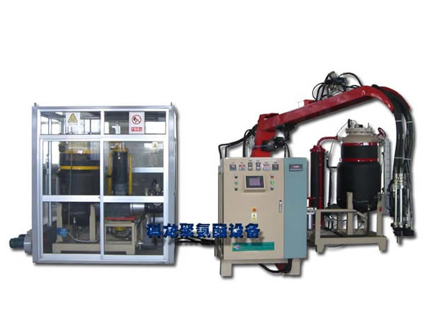 高压发泡机:KL2二次混合型二组分高压发泡机