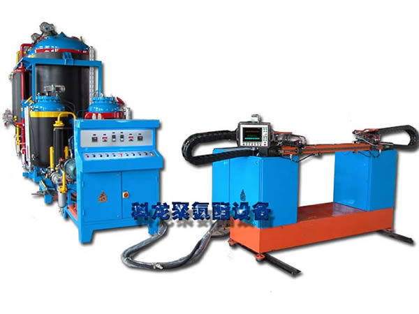 Spear head high-pressure continuous sheet foaming machine