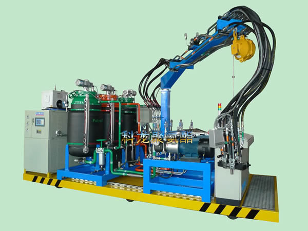 The three component of vehicle foaming machine